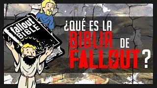 La Biblia de Fallout ¿Qué es y qué contiene?