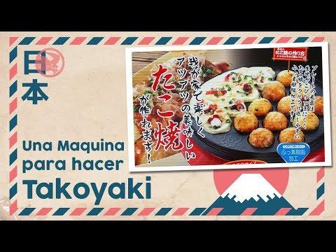 Llegó desde Japón una maquina para hacer Takoyaki