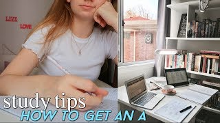 Ace your finals | Study tips + how to be more productive