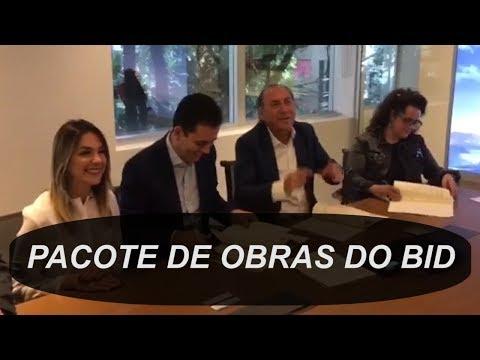 Paulo Serra assina contrato de empréstimo de US$ 25 milhões para obras viárias