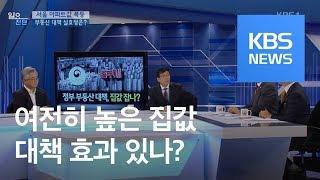 [일요진단] '서울 아파트값' 폭등…부동산 대책 실효성은? / KBS뉴스(News)
