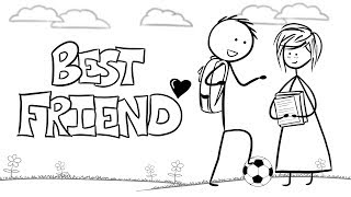 Ingrid Michaelson   Best Friend | Animated Lyrics Video!