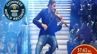 Fastest Violin Player - Schnellster Geigenspieler - Guinness World Record