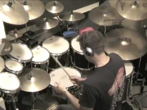 Anthony Eaton Plays Drums! The Police - Too Much Information - Drum Cover