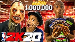 I SURPRISED THE KID'S WITH 1,000,000 VC'S & TOOK THEM COSTUME SHOPPING!