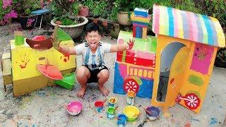 Trò Chơi Bé Vui Nhà Nhỏ Playhouse ❤ ChiChi ToysReview TV ❤ Đồ Chơi Trẻ Em Kid Fun Song