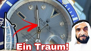 Die Rolex eines Sultans, ich kaufe mir meine erste Diamanten Uhr Rolex Submariner 16613