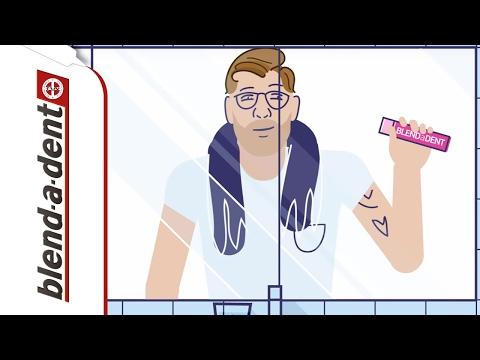 Richtiges Auftragen der Haftcreme | Blend-a-dent