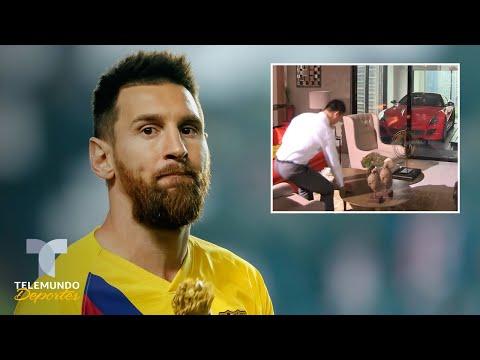 Messi compra el apto más lujoso de Miami: Piso 47, subes en carro | Telemundo Deportes