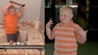 tWitch and 7-Year-Old Viral Star Dalton Hammer Out Their Dance Moves!