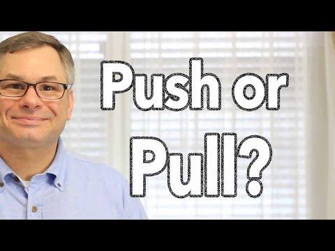 Push Motivation vs Pull Motivation