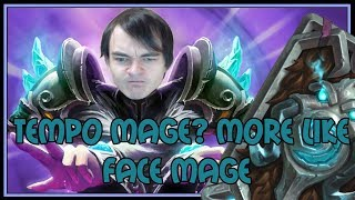 Tempo mage? more like FACE MAGE   The Witchwood   Hearthstone