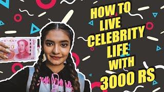 How to live like a celebrity with 3000 Rs ? | Anuska Sen Travel Vlog | Likee