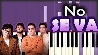 Morat   No Se Va | Piano Tutorial  Cover