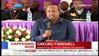 Hon Aden Duale remembers the late Governor Wahome as a peaceful leader behind President Uhuru