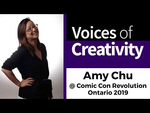 Amy Chu - Comic Book Writer - Voices of Creativity S03E01