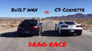 hmongbuynet  BUILT WRX vs M3 vs GTI  DRAG RACE