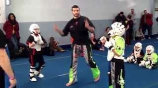 preview picture of video 'Tournament Point Sparring Explained Amerikick Medford NJ'
