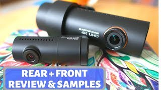 Best Discrete 4K Dual Dash Cam? Blackvue DR-900S-2CH Review, Test And Samples