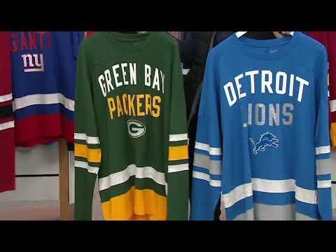 NFL Men's Retro Long-Sleeve Football Jersey on QVC