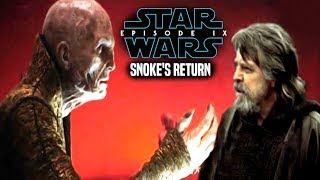 Star Wars! HUGE Hint Of Snoke
