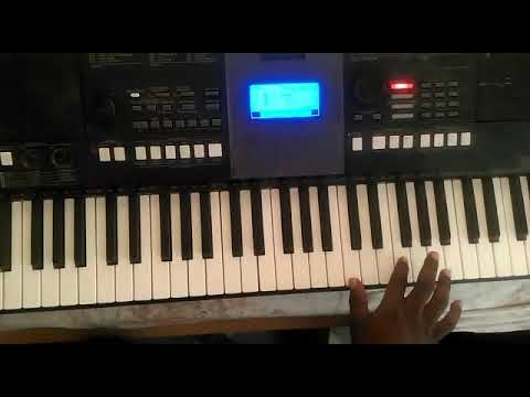 Ghana/Nigeria praises feel (Ghana upper East song). Making beats on the piano