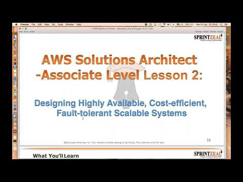 aws certified solutions architect - aws training solution architect ...