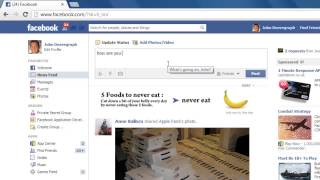 How to Make Facebook Name Links