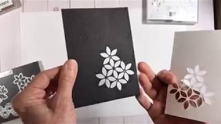 Unique Homemade Christmas Cards With The Very Versailles Stamp Set! - A Facebook Live Event!