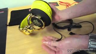 #0029 - Thermaltake Tt eSPORTS Yellow Dracco Signature Gaming Headphones Unboxing & Review