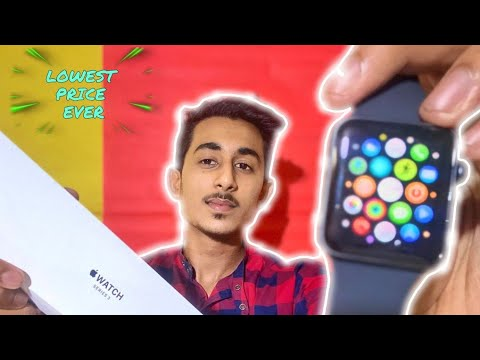 Apple Watch Unboxing | Series 3 | 42mm | Ayaan Rayeen
