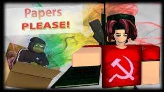 roblox papers please how to join military - Free Online