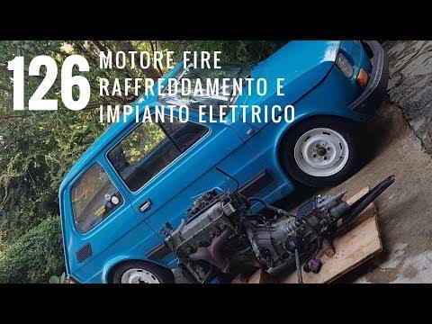 Fiat 126 Motore Fire: Raffreddamento, vano motore, Impianto Elettrico