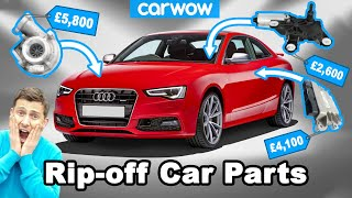 Revealed: RIP-OFF Replacement Parts On Normal Cars!