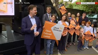 GE2017 Latest: Former deputy PM Nick Clegg speaks angerly about Tory plans for '7p breakfasts'