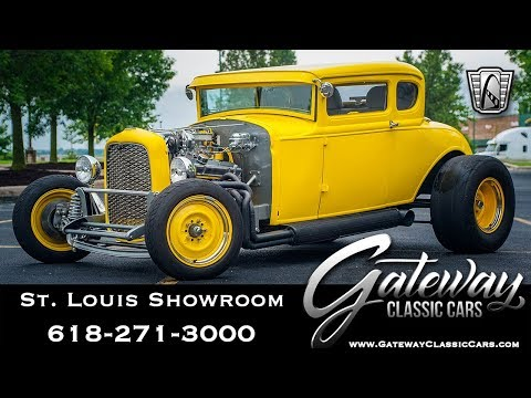 Video of 1931 Ford Model A - $36,500.00 Offered by Gateway Classic Cars - St. Louis - QB9R