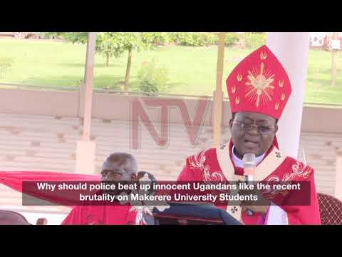Archbishop Lwanga condemns police brutality against students