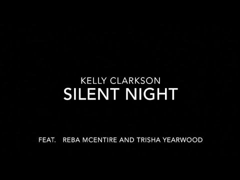 Kelly Clarkson - Silent Night (LYRICS)