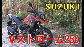 スズキの「Vストローム250」をレンタルしてみた 今回の燃費は説明欄で・・・(SONY HDR-AZ1)