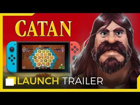 CATAN on Nintendo Switch - Launch Trailer thumbnail