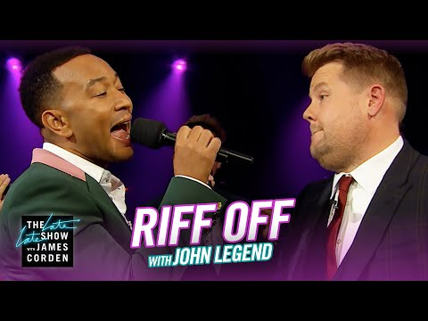 Watch John Legend's Songs of the Summer Riff-Off with James Corden on The Late Late Show