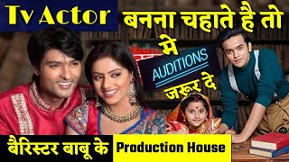 Part 2  How to become an actor in hindi tv serials Shashi Sumeet Productions   Zoya Casting Director