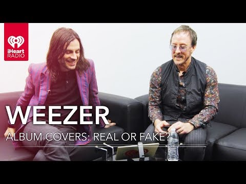 Can Weezer Guess Which Album Covers Are Real or Fake? | Album Covers: Real or Fake?