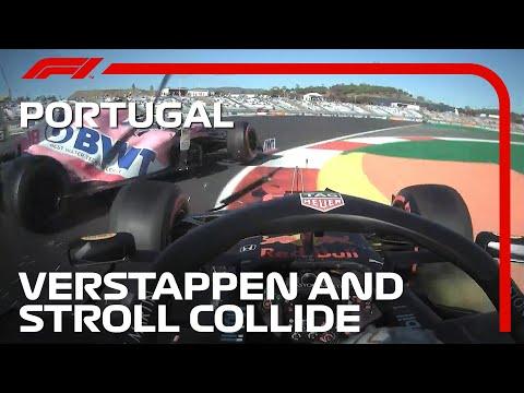 マックス・フェルスタッペンとストールが接触!F1 第12戦ポルトガルGP(ポルトガル)フリープラクティスで起きたクラッシュ映像