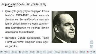 Eğitim Vadisi AYT Edebiyat 14.Föy Milli Edebiyat Zevk ve Anlayışını Sürdüren Şiir 2 Konu Anlatım Videoları