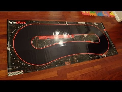Anki DRIVE - Anki DRIVE Starter Kit Unboxing and Play Video - Found at Anki.com and Apple Stores
