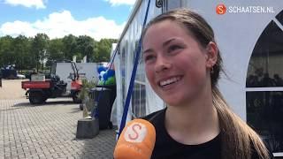 Ramona Westerhuis verovert junioren marathontitel: 'Zo'n opluchting'