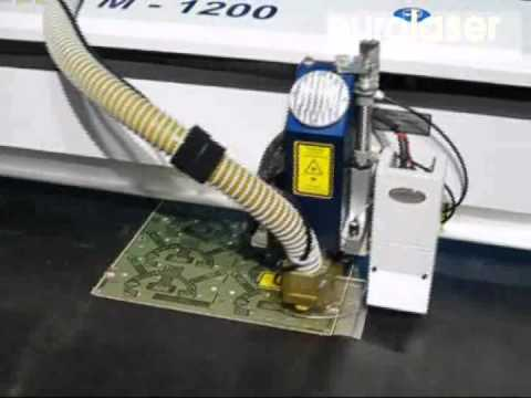 Circuit boards of polyimide | Laser cutting