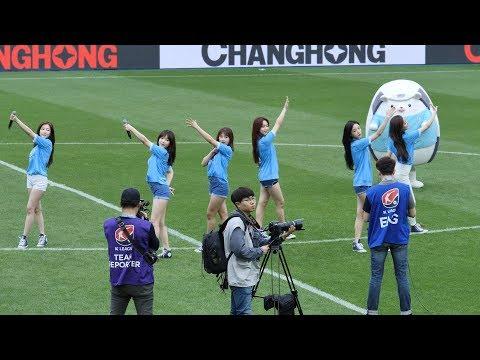 190519 에이프릴 APRIL 봄의 나라 이야기 April Story K리그 대구FC 하프타임 공연 직캠 fancam by HoLic H