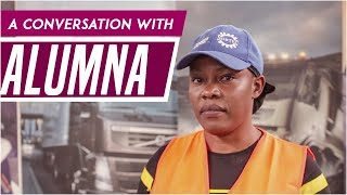 A conversation with Alumna